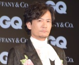 『GQ MEN OF THE YEAR 2017』を受賞した稲垣吾郎 (C)ORICON NewS inc.