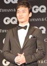 『GQ MEN OF THE YEAR 2017』を受賞した草なぎ剛 (C)ORICON NewS inc.