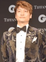 『GQ MEN OF THE YEAR 2017』を受賞した香取慎吾 (C)ORICON NewS inc.