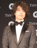 『GQ MEN OF THE YEAR 2017』を受賞した斎藤工 (C)ORICON NewS inc.