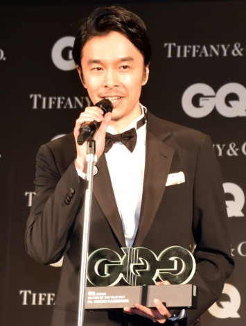 『GQ MEN OF THE YEAR 2017』を受賞した長谷川博己 (C)ORICON NewS inc.