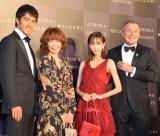 (左から)奈良橋陽子、ジャン・クリストフ・ババン氏、大竹しのぶ (C)ORICON NewS inc.