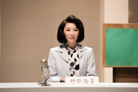 ドラマ『トットちゃん!』に野際陽子さん役で出演する真瀬樹里 (C)テレビ朝日