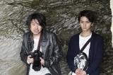 先輩カメラマン・高江克海(斉藤陽一郎)とアシスタント・清見悠(瀬戸利樹)(C)テレビ朝日