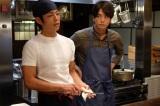ドラマ『最後の晩ごはん』BSジャパンで2018年1月放送開始。主演の中村優一(右)と杉浦太陽(左)(C)「最後の晩ごはん」製作委員会