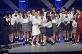 11月26日深夜、NHK近畿ブロックで放送『ヤングナフェス@OSAKA』Dream Amiがダンスコンテスト日本一の同志社香里高校ダンス部と共演(C)NHK
