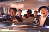 亡くなった仲間と孫娘の最後の約束を果たすため、遺体を連れた奇妙なドライブがはじまった(左から)市村正親、松坂慶子、でんでん、片岡鶴太郎、角野卓造(C)テレビ朝日