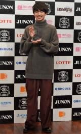 『第30回ジュノン・スーパーボーイ・コンテスト グランプリ』でグランプリに選ばれた綱啓永さん (C)ORICON NewS inc.
