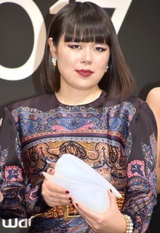 『VOGUE JAPAN Women of the Year 2017』の授賞式に出席したブルゾンちえみ (C)ORICON NewS inc.