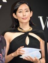 『VOGUE JAPAN Women of the Year 2017』の授賞式に出席した木村多江 (C)ORICON NewS inc.