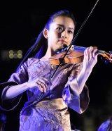 『東京2020参画プログラム 文化オリンピアードナイト』コンサートに出演した宮本笑里 (C)ORICON NewS inc.