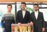 イル・ヴォーロ(IL VOLO)の(左から)ジャンルカ・シノーブレ、イニャツィオ・ボスケット、ピエロ・バローネ (C)ORICON NewS inc.