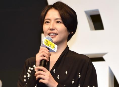 映画『嘘を愛する女』の完成披露舞台あいさつに出席した長澤まさみ (C)ORICON NewS inc.