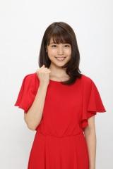 『第68回NHK紅白歌合戦』の紅組司会を務める有村架純(C)NHK
