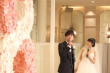 映画『8年越しの花嫁 奇跡の実話』の公開直前イベントに出席した(左から)佐藤健、土屋太鳳 (C)ORICON NewS inc.