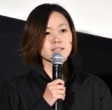連続ドラマ『セトウツミ』の舞台あいさつに出席した瀬田なつき監督