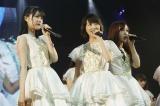 初期の顔となった「生生星」フロント曲も(左から生田絵梨花、生駒里奈、星野みなみ)