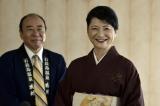 12月1日放送、テレビ朝日系『重要参考人探偵』第7話より。温泉旅館の女将(伊藤かずえ)と番頭(モト冬樹)は何かを知っているようで…(C)テレビ朝日
