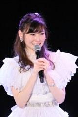 SKE48劇場最終公演を行った大矢真那(C)AKS