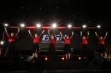 六本木ヒルズアリーナでアルバム発売記念ライブを開催したBiSH(左からハシヤスメ・アツコ、リンリン、アイナ・ジ・エンド、セントチヒロ・チッチ、モモコグミカンパニー、アユニ・D)