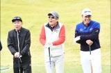 『夢対決2018とんねるずのスポーツ王は俺だ!!』2018年1月2日、放送決定。ゴルフ対決(C)テレビ朝日