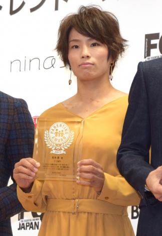 『第10回 ペアレンティングアワード』の授賞式に出席した松本薫 (C)ORICON NewS inc.