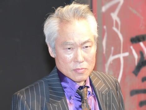 第10回本公演『クローズZERO』公開ゲネプロ後の囲み取材に出席したモロ師岡 (C)ORICON NewS inc.