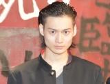 第10回本公演『クローズZERO』公開ゲネプロ後の囲み取材に出席した松本大志 (C)ORICON NewS inc.