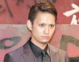 第10回本公演『クローズZERO』公開ゲネプロ後の囲み取材に出席した伊崎央登 (C)ORICON NewS inc.
