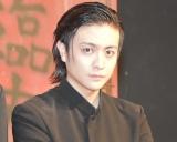 第10回本公演『クローズZERO』公開ゲネプロ後の囲み取材に出席した堂本翔平 (C)ORICON NewS inc.