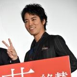 映画『火花』大ヒット御礼舞台あいさつに出席した桐谷健太 (C)ORICON NewS inc.