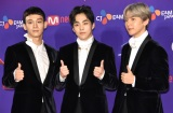 『2017 MAMA in Japan』レッドカーペットに登場したEXO-CBX (C)ORICON NewS inc.
