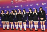 『2017 MAMA in Japan』レッドカーペットに登場したfromis_9 (C)ORICON NewS inc.