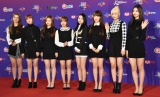 『2017 MAMA in Japan』レッドカーペットに登場したWeki-Meki (C)ORICON NewS inc.