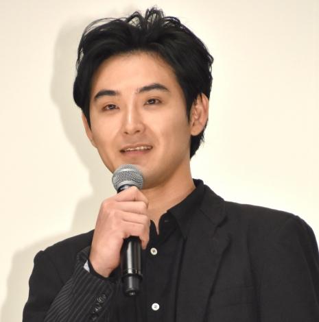 『探偵はBARにいる3』初日舞台あいさつに出席した松田龍平 (C)ORICON NewS inc.