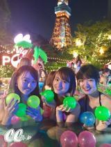 連日の行列となったイベント「CanCam ナイトプール」は東京プリンスホテルで開催