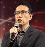 円谷プロ新作アニメ『ULTRAMAN』製作発表に出席した荒牧伸志氏 (C)ORICON NewS inc.
