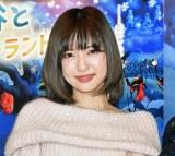 『MOOMINパペット・アニメーション展』に来場した神田沙也加 (C)ORICON NewS inc.