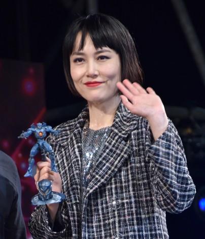 映画『パシフィック・リム:アップライジング』イベントに登場した菊地凛子=『東京コミコン2017』 (C)ORICON NewS inc.