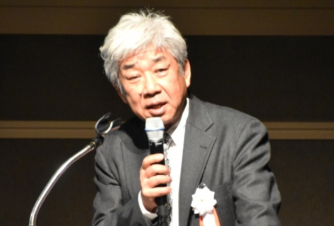『クールジャパン・マッチングフォーラム2017』で基調講演を行った大崎洋社長 (C)ORICON NewS inc.