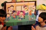 アニメのキャラクターデザイン・浅野直之氏が舞台のための描き下ろしイラスト (C)ORICON NewS inc.