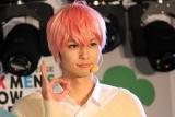 舞台の第2弾『おそ松さん on STAGE 〜SIX MEN'S SHOW TIME 2〜』の公開記者会見に出席した中山優貴 (C)ORICON NewS inc.