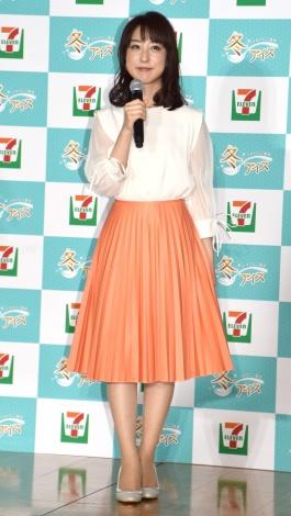 スカート姿の川田裕美