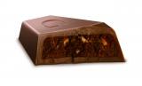 香ばしいプラリネとまろやかな味わいが特長の『ミルクチョコレート プラリネ』(12/12発売 税込348円)