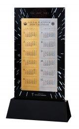 GINZA TANAKA「スター・ウォーズ/最後のジェダイ 純金・純プラチナビッグカレンダー2018」(暦面)(C)& TM Lucasfilm Ltd.