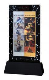 GINZA TANAKA「スター・ウォーズ/最後のジェダイ 純金・純プラチナビッグカレンダー2018」(アート面)(C)& TM Lucasfilm Ltd.