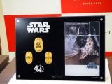 GINZA TANAKA「スター・ウォーズ 40周年記念 純金製小判額」(C)& TM Lucasfilm Ltd.