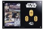 GINZA TANAKA「スター・ウォーズ 40周年記念 純金製小判額」(裏)(C)& TM Lucasfilm Ltd.