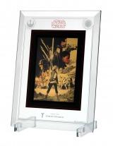 GINZA TANAKA「スター・ウォーズ/最後のジェダイ 純金 5g カレンダー(フレーム付)」(C)& TM Lucasfilm Ltd.