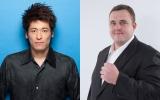 佐藤隆太(左)主演、LGBT漫画『弟の夫』ドラマ化。弟の夫役に把瑠都(右)を抜てき。NHK・BSプレミアムで2018年3月放送(全3回)